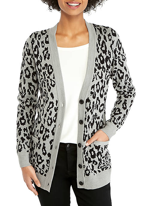 Animal Boyfriend Cardigan