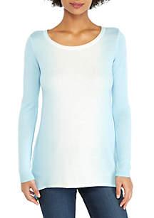 THE LIMITED Curve Hem Tunic Sweater
