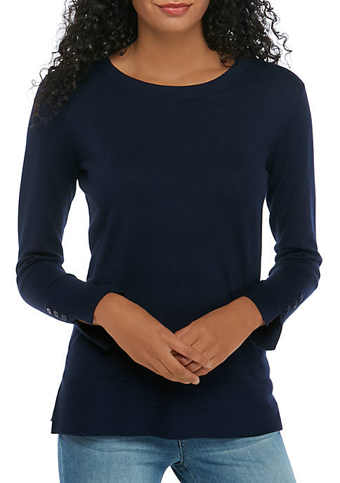 THE LIMITED Petite Crew Neck Sweater