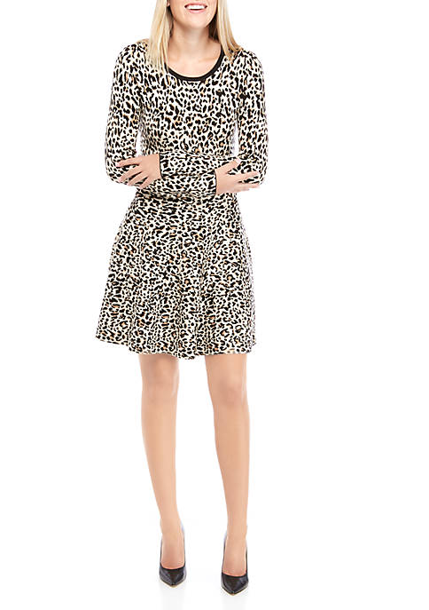 Womens Fit and Flare Dress