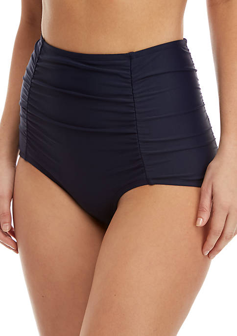 Crown & Ivy™ High Waisted Tummy Control Swim