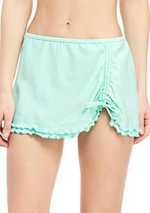 Solid Swim Skirt