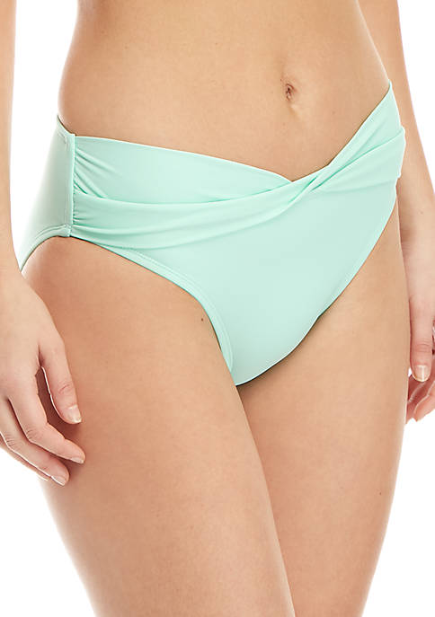 Crown & Ivy™ Solid Swim Hipster