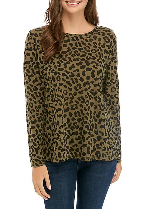 Cold Crush Long Sleeve Leopard T-Shirt