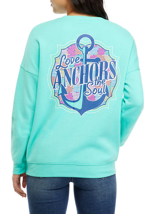 Benny & Belle Juniors Long Sleeve Fleece Love