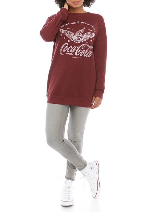 Benny & Belle Juniors Long Sleeve Fleece Coca