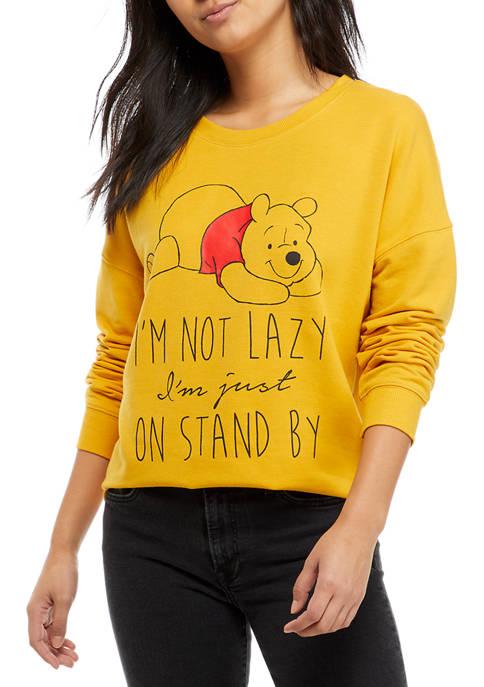 Disney® Juniors Yummy Soft Pooh-Bear Long Sleeve Shirt