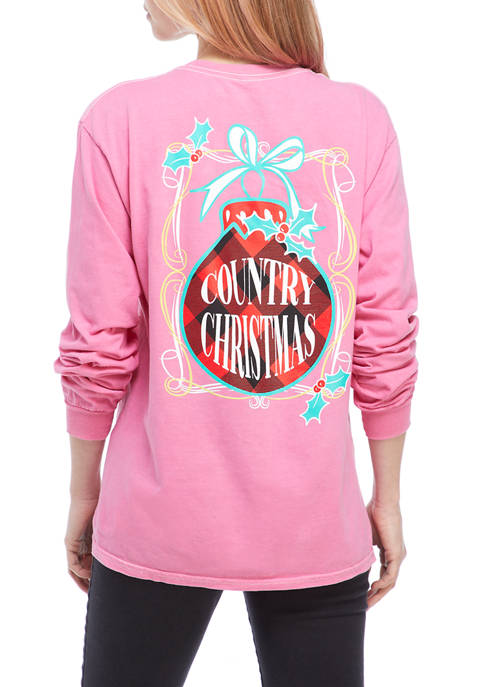 Benny & Belle Juniors Long Sleeve Country Christmas