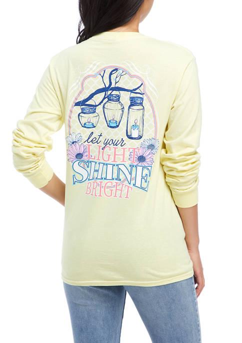 Benny & Belle Juniors Long Sleeve Lantern Graphic