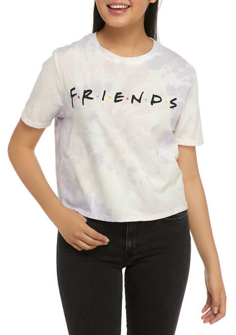 F.R.I.E.N.D.S Juniors Short Sleeve Skimmer Graphic T-Shirt