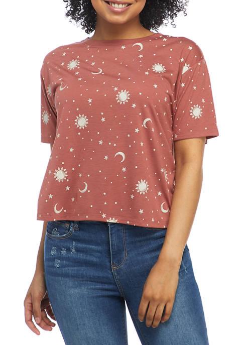Cold Crush Juniors Skimmer Star Graphic T-Shirt