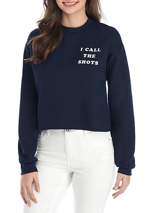 Cold Crush Long Sleeve I Call The Shots