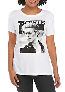Bowie Junior's Short Sleeve Side Knot David  Bowie T-Shirt