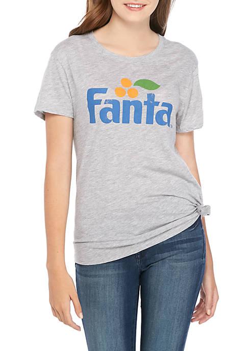 Short Sleeve Side Knot Fanta T Shirt
