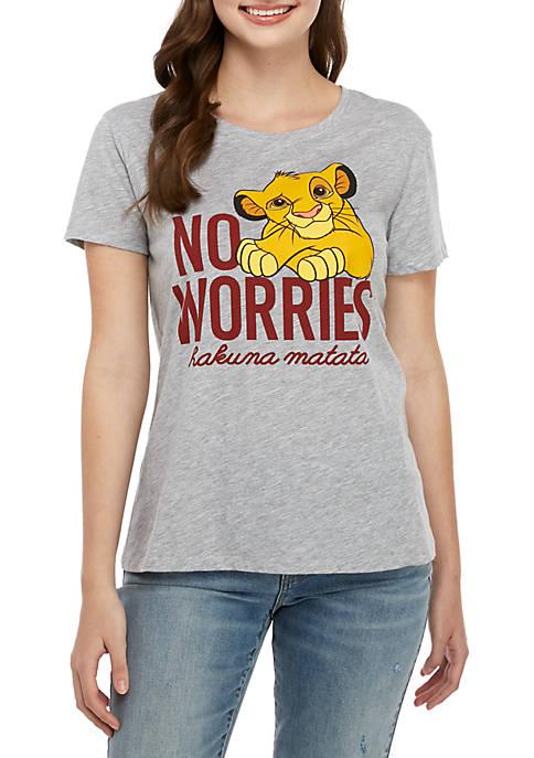 Short Sleeve No Worries T Shirt