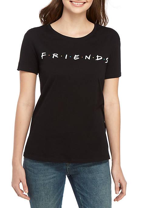 Short Sleeve Friends TV Graphic T Shirt