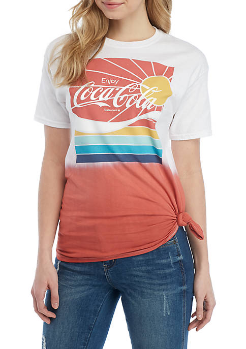 Cold Crush Short Sleeve Coca Cola Sunshine Graphic