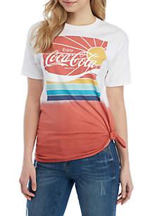 Cold Crush Short Sleeve Coca Cola Sunshine Graphic T Shirt