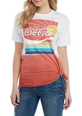 6b407a40 Cold Crush Short Sleeve Coca Cola Sunshine Graphic T Shirt ...