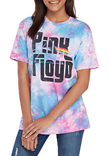 Cold Crush Tie Dye Pink Floyd Graphic T Shirt