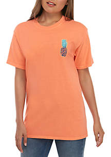 Benny & Belle Short Sleeve Pineapple Extra Fancy Graphic T-Shirt