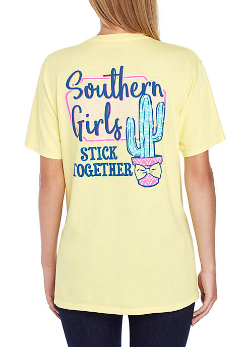 Benny & Belle Short Sleeve Southern Girls Cactus