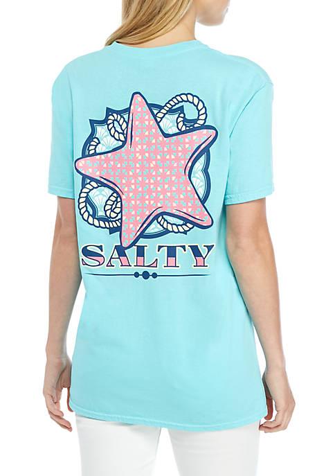 Short Sleeve Salty Starfish T Shirt