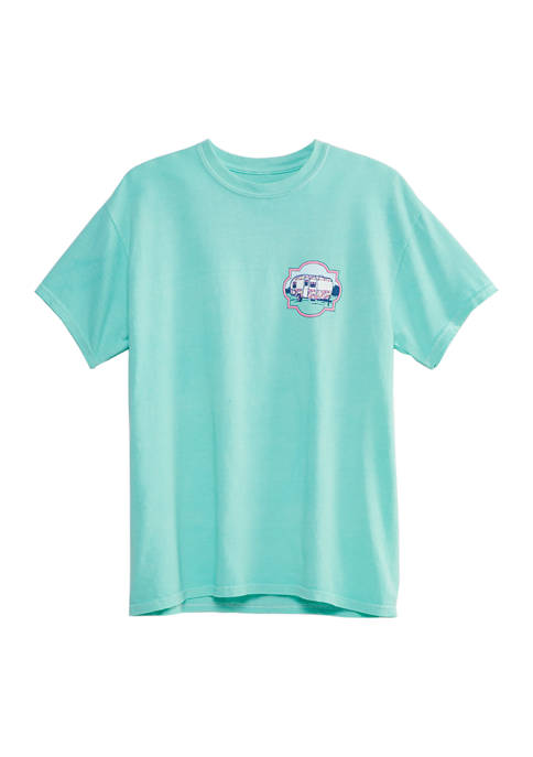 Benny & Belle Juniors Happy Camper Short Sleeve