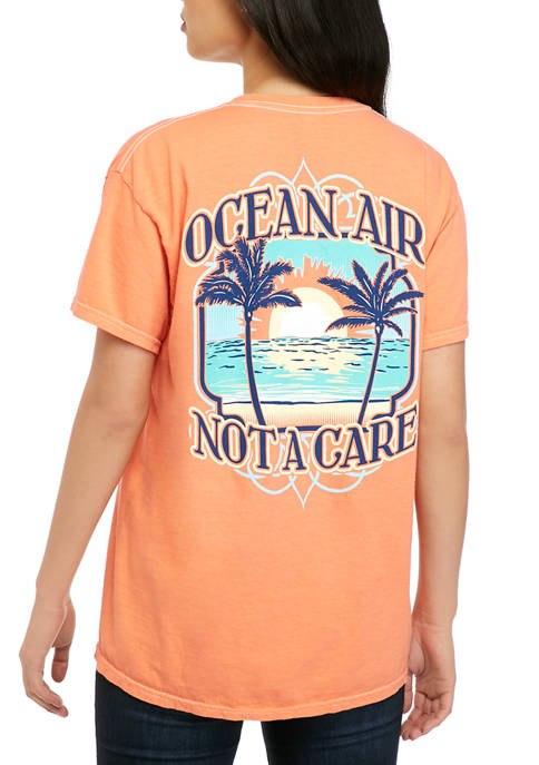 Benny & Belle Juniors Short Sleeve Ocean Air