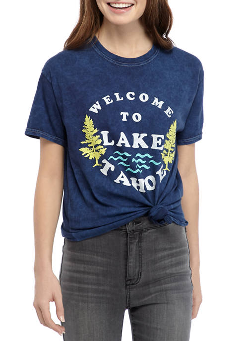 Cold Crush Juniors Short Sleeve Side Knot Lake
