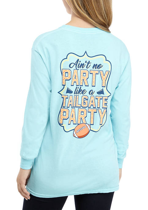 Benny & Belle Long Sleeve Tailgate Party T-Shirt