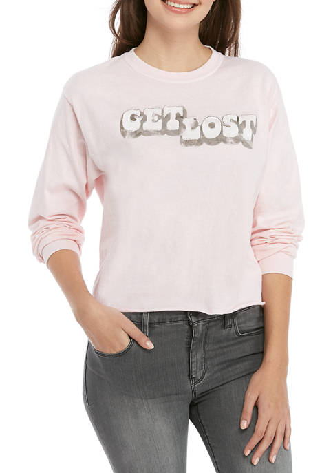 Cold Crush Juniors Long Sleeve Get Lost Skimmer