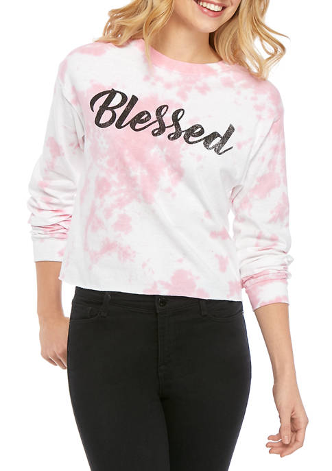 Cold Crush Juniors Long Sleeve Skimmer Blessed Tie