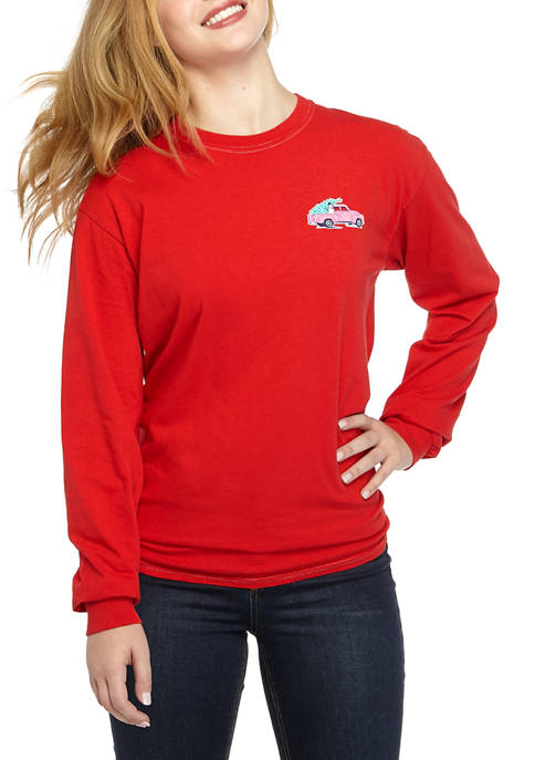 Benny Amp Belle Junior S Long Sleeve Country Christmas