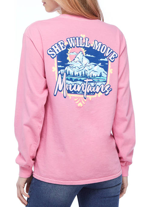 Benny & Belle Juniors Long Sleeve Move Mountains