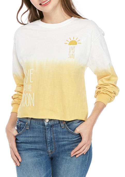 Cold Crush Juniors Long Sleeve Sun and Moon