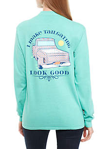 Long Sleeve I Make Tailgating Look Good Shirt