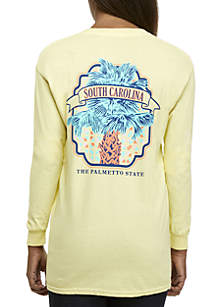 South Carolina Palmetto Long Sleeve Graphic Tee