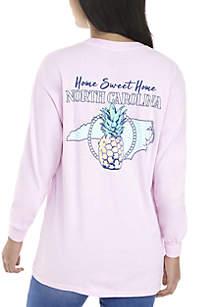 Long Sleeve North Carolina Graphic Shirt