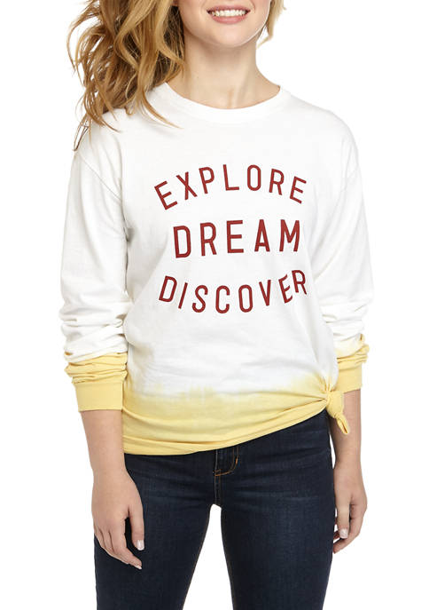 Cold Crush Juniors Long Sleeve Side Knot Explore