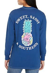Sweet Sassy Southern Pineapple Tee