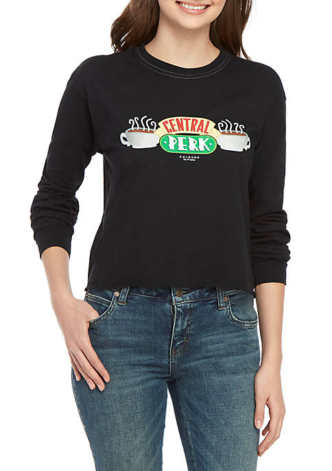 F.R.I.E.N.D.S Long Sleeve Central Perk Graphic T Shirt