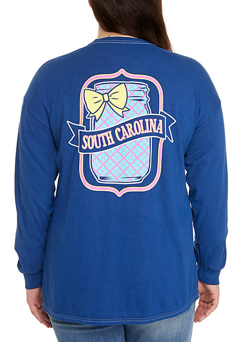 Benny & Belle Plus Size Long Sleeve South
