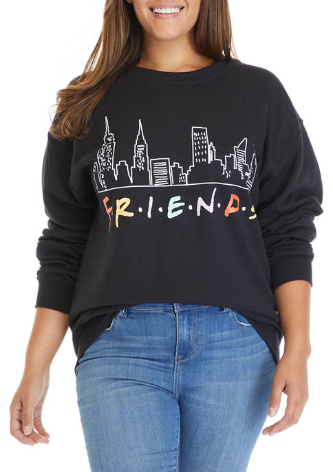 Plus Size Fleece Pullover
