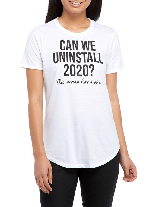 Uninstall 2020 Short Sleeve T-Shirt