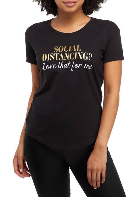 Short Sleeve Social Distancing T-Shirt
