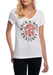 Rock N Roll Rose Fest Tee