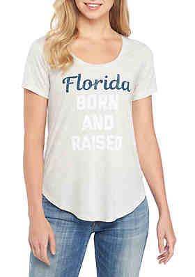 True Craft Florida Born Tee