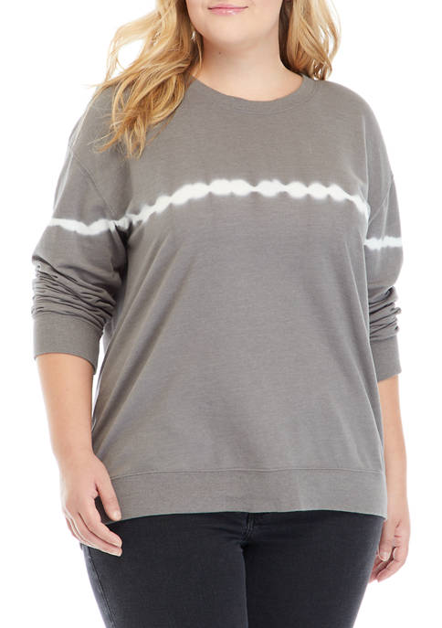 TRUE CRAFT Plus Size Crew Neck Sweatshirt