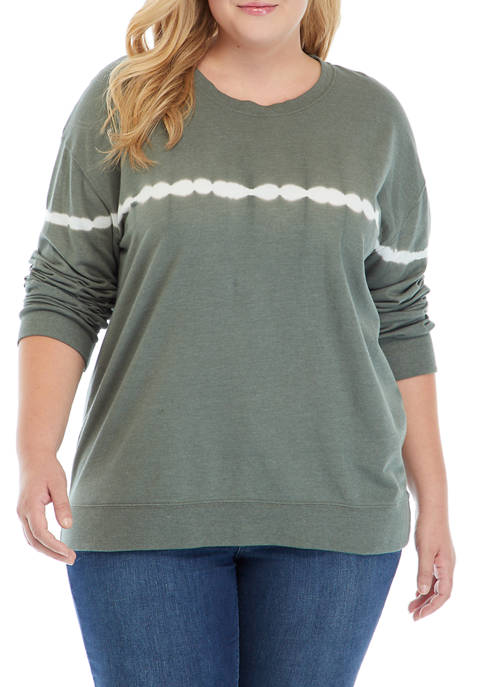 TRUE CRAFT Soft Shop Plus Size Crew Neck